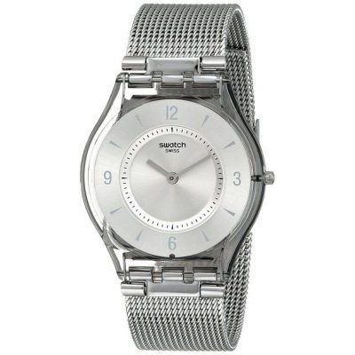 Relojes Swatch Metal Knit SFM118M